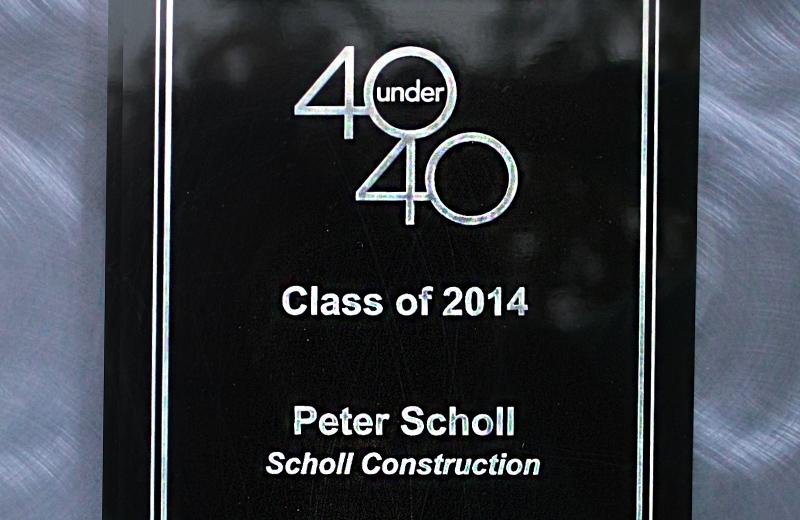 40 under 40 award peter scholl