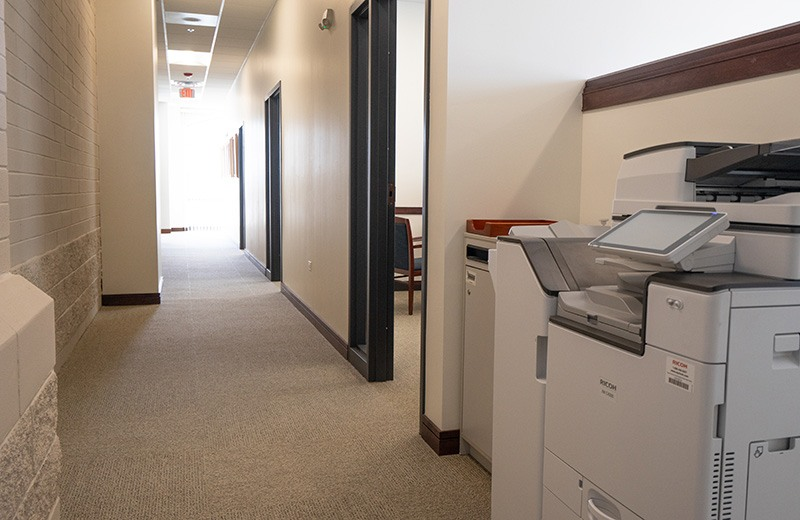 Commercial addition and remodeling - copy room