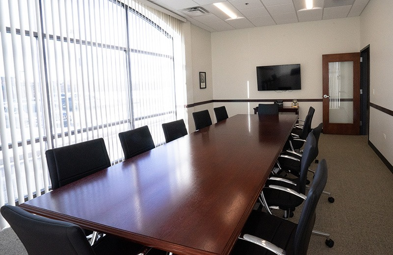 Commercial addition and remodeling - new conference room