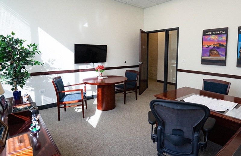 Commercial addition and remodeling - new office