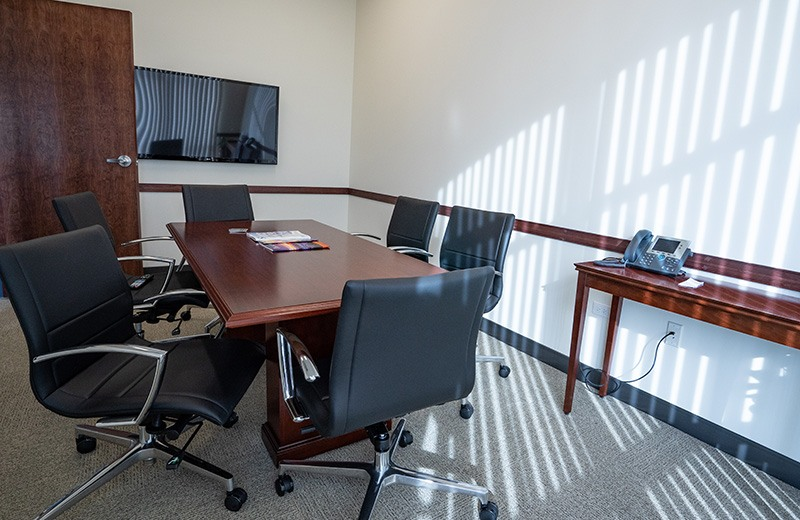 Commercial addition and remodeling - small conference room