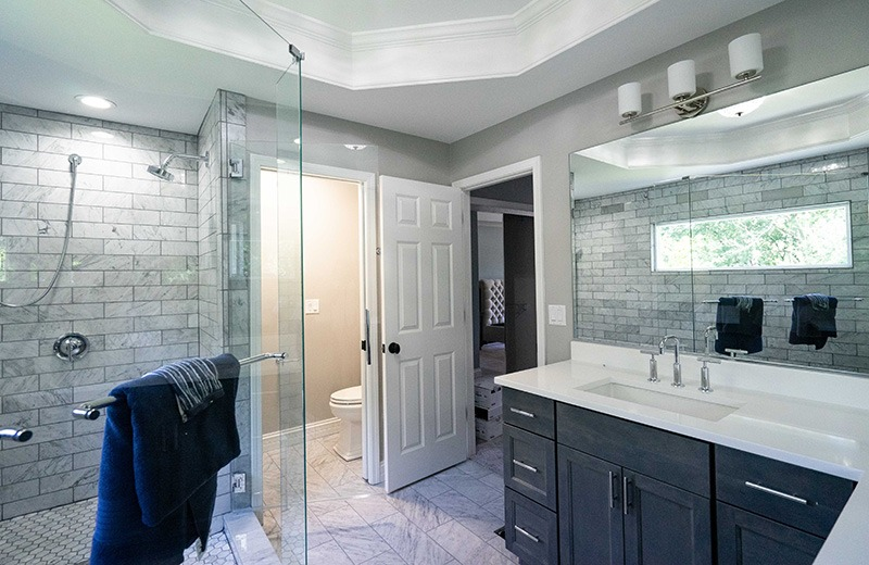 Whole house remodel - master bathroom suite