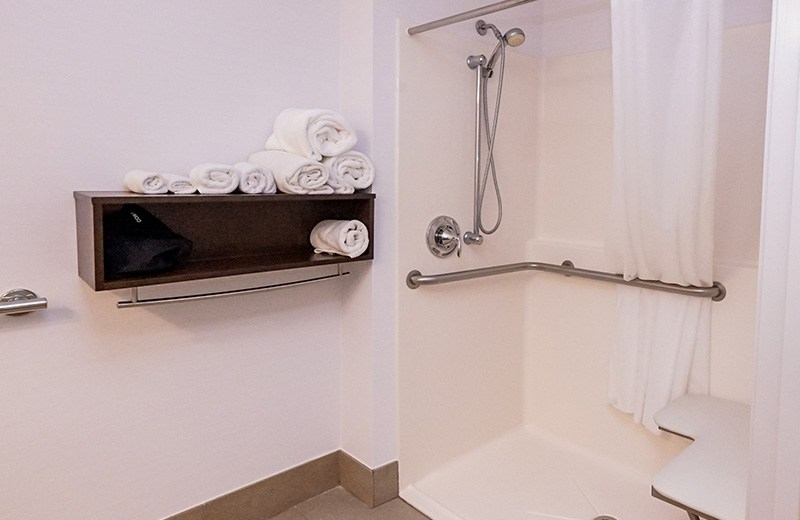 Commercial building - interior remodeling - guest special needs shower
