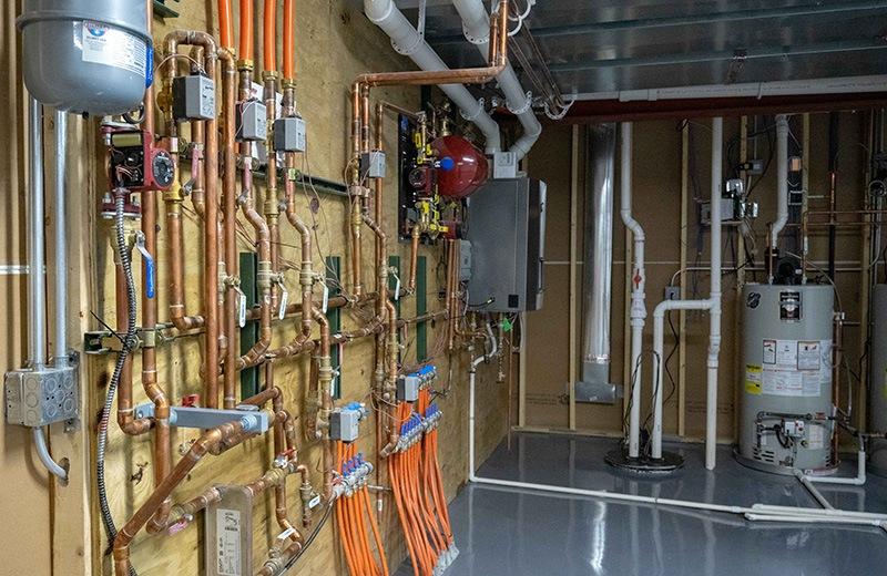 Custom built energy efficient home
