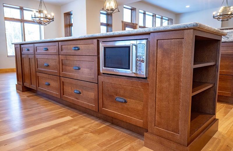 Custom built energy efficient home - kitchen details