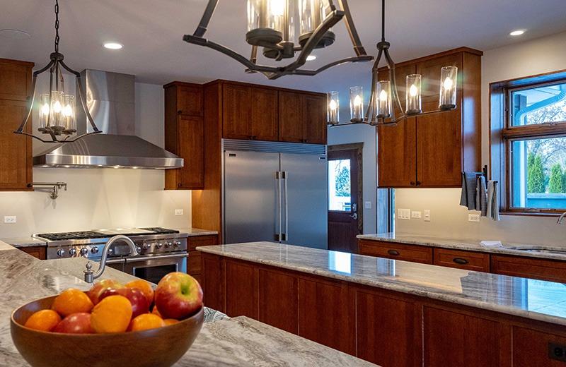 Custom built energy efficient home - kitchen