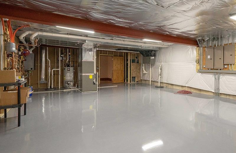 Custom built energy efficient home - utility room