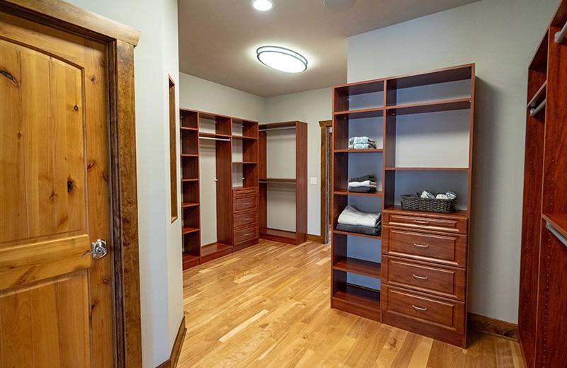 Master Closet in Master Suite