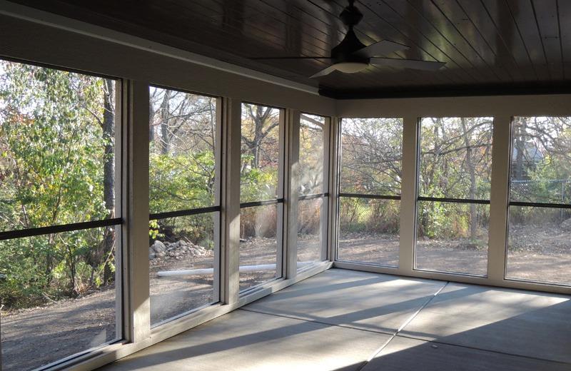 Custom built home - screened in porch, inside