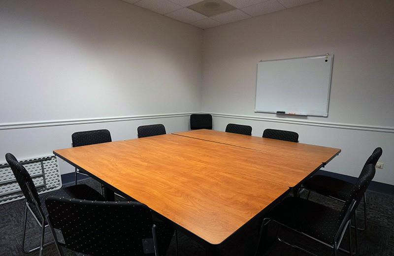 Office build out - conference room