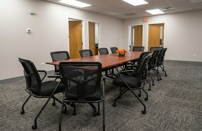 Office build out - conference room area