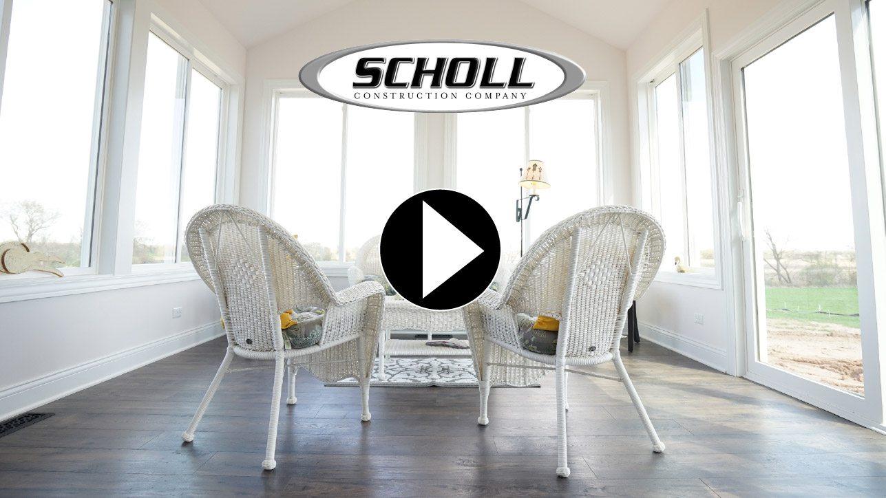 white wicker furniture in white 4 seasons room