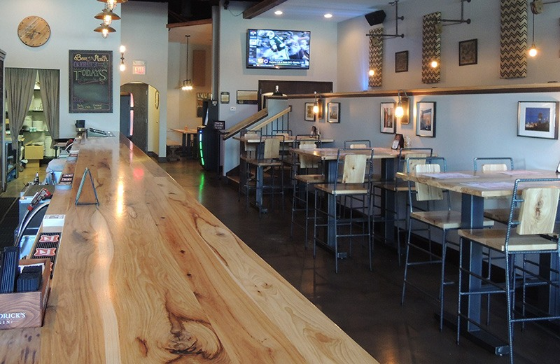 Commercial renovate - dine-in seating and bar