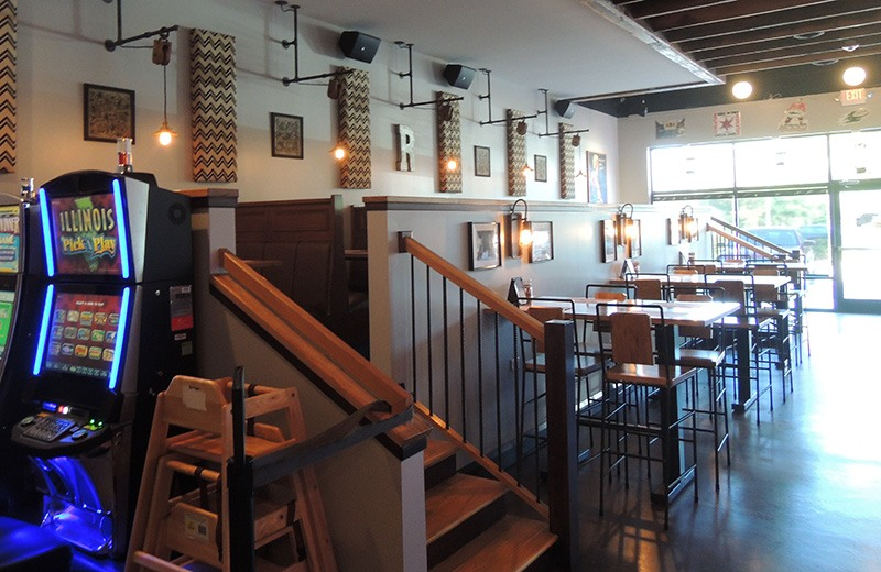 Commercial renovate - dine-in restaurant seating