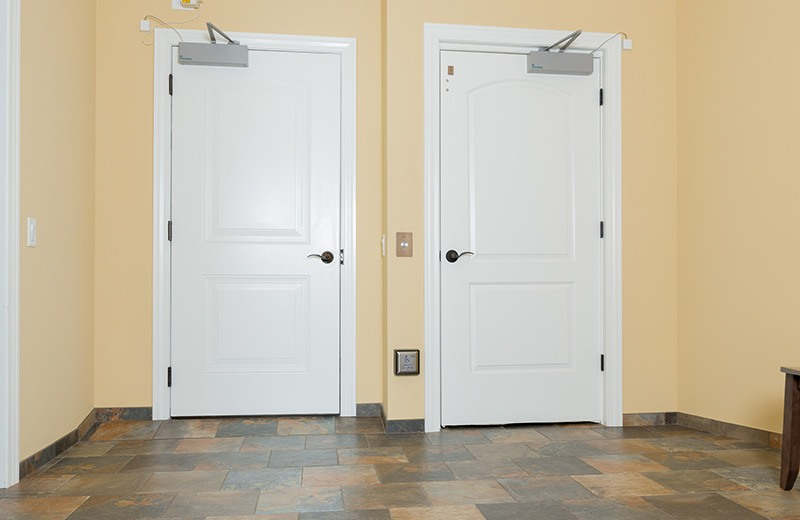 Extra Wide Electric Door Open Easily