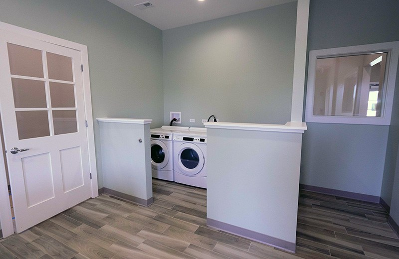 Commercial custom build - laundry room