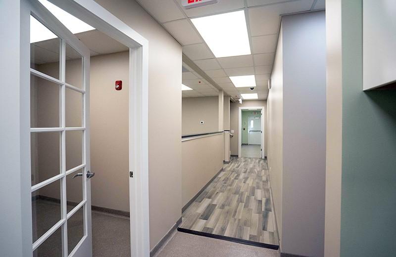 Commercial custom build - examining room