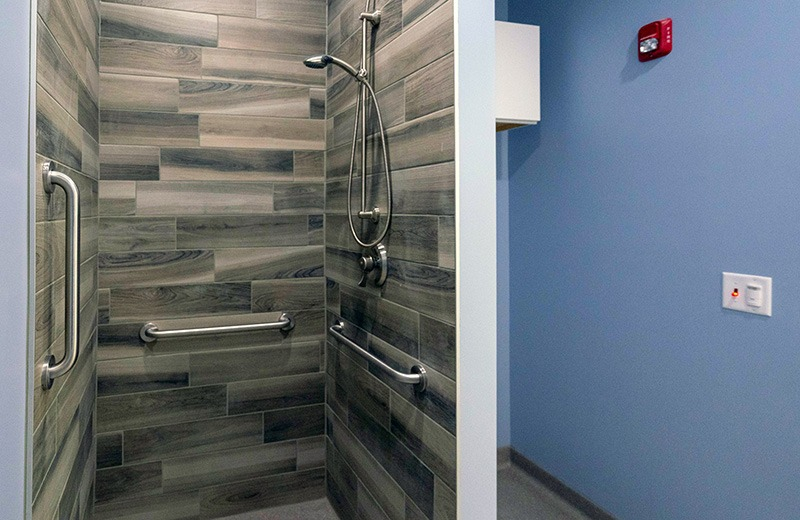 Commercial Custom Build - shower