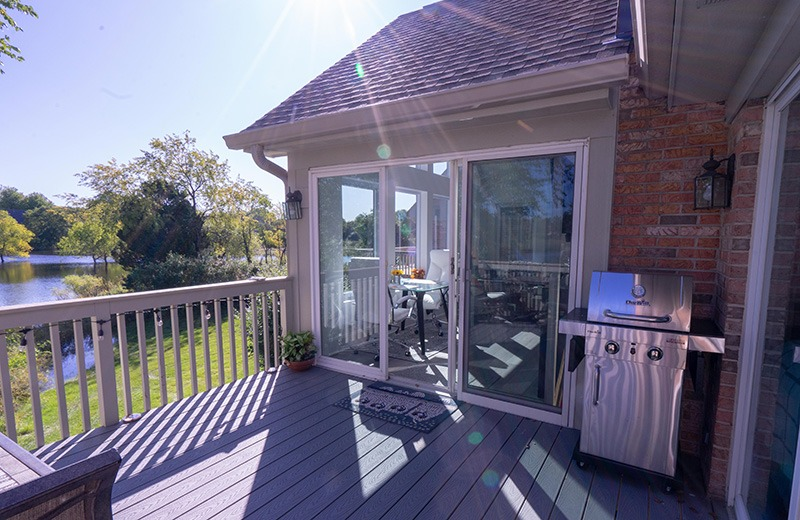 Sun room addition deck, Crystal Lake, IL