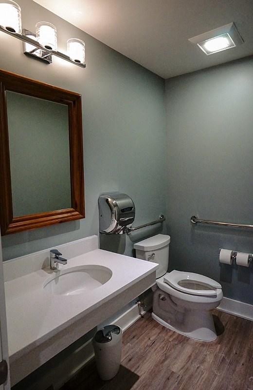 Bathroom in Gallery
