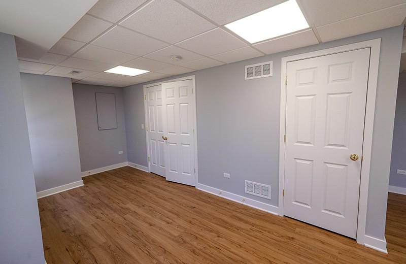 Finished Basement - storage room