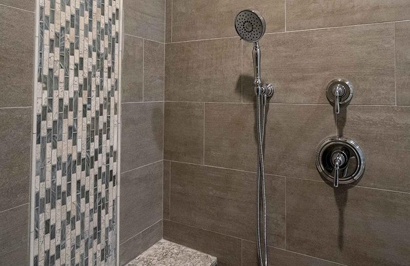 Custom Built Home - Master Bathroom - Shower Detail