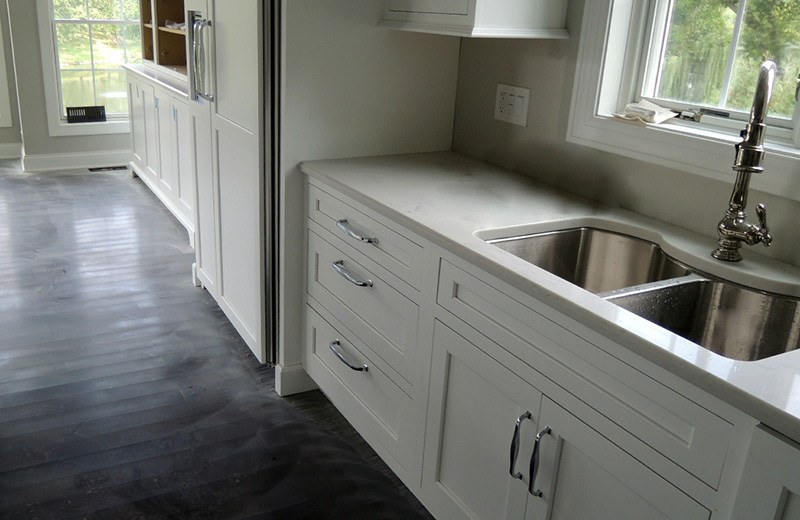 Custom built luxury home -kitchen cabinets, Lakewood, IL