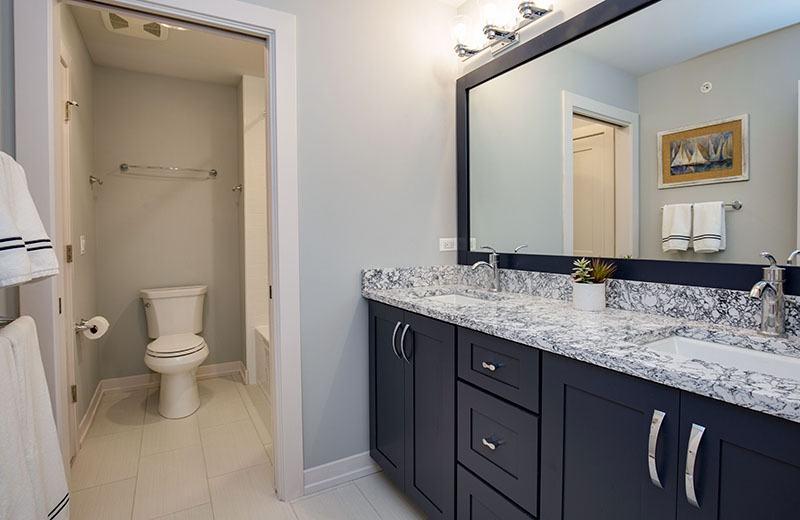 Custom Built Home - bathroom, Medinah, IL
