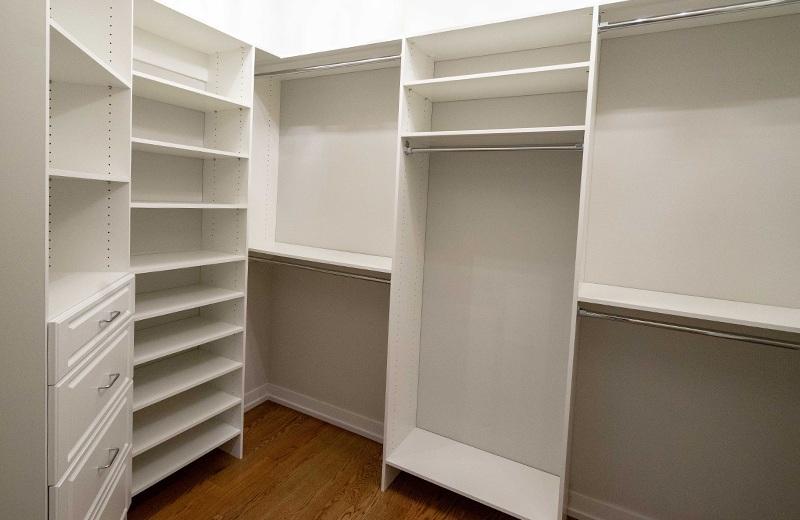 Custom Built Home - master closet, Medinah, IL