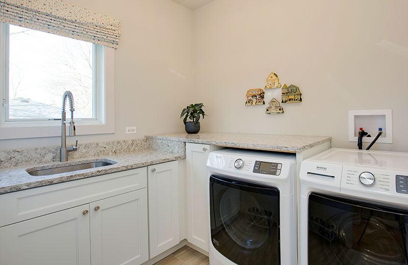 Custom Built Home - laundry room, Medinah, IL
