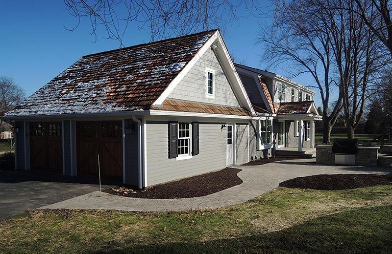 Exterior renovation - after back outside