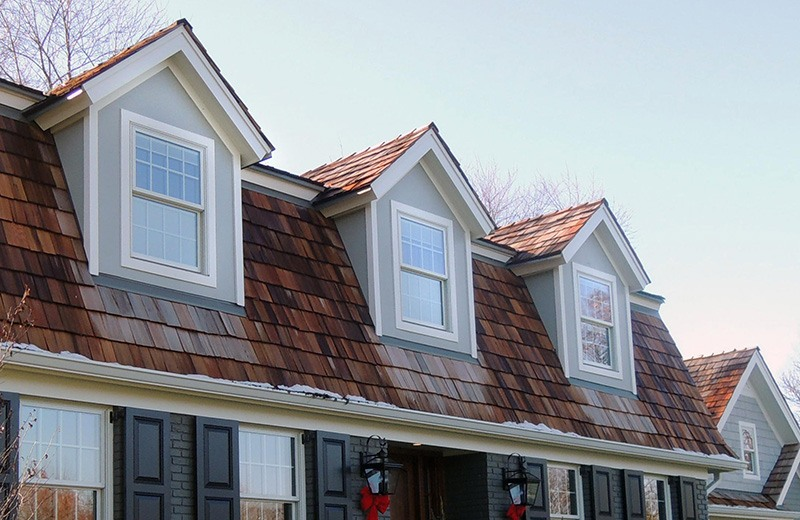 Exterior renovation - new roof line, Inverness, IL