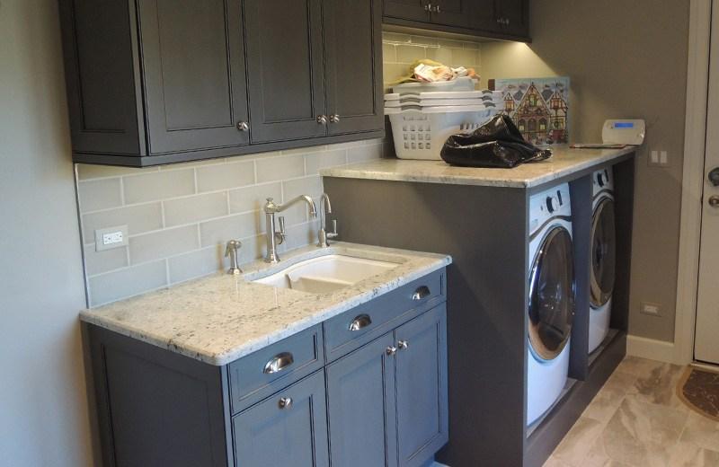 Exterior renovation - new laundry area