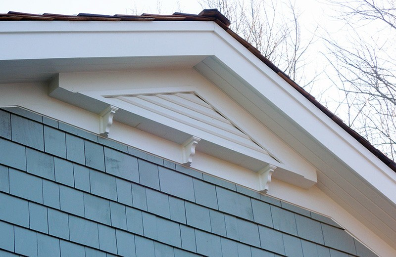 Exterior renovation - roof line details