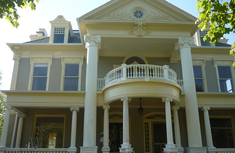 Historic Renovation - repair to Victorian Style Original Front Porch