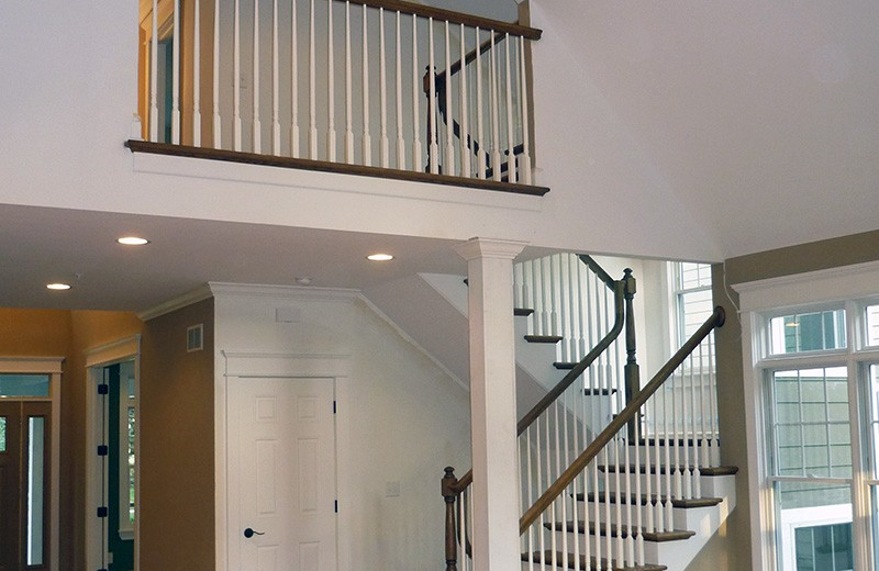 Tear down and rebuild in Glen Ellyn, IL - stairs