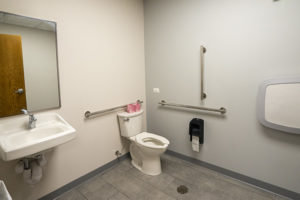 Options & Advocacy bathroom