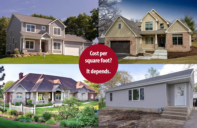 4 examples of homes
