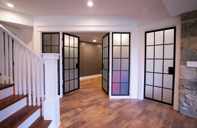 Doors to Workout Room